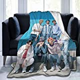 Boys Group Blanket 60'x50' Fan Flannel Throws Blankets for Couch Sofa All Season Super CozyPlush Blanket for Kids Adults