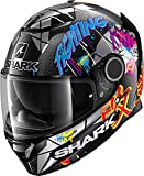 Shark SPARTAN CARBON 1.2 LORENZO CATALUNYA GP DXR CASCO INTEGRAL CARBONO ROJO BRILLANTE M