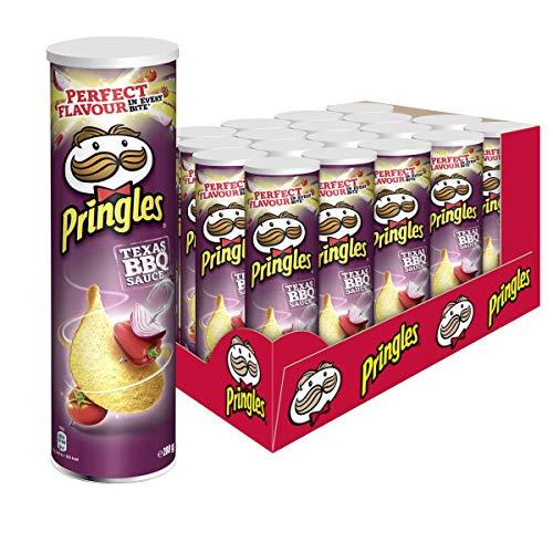 Pringles Texas Barbecue Sauce Chips | 19er Vorratspackung (19x200g)