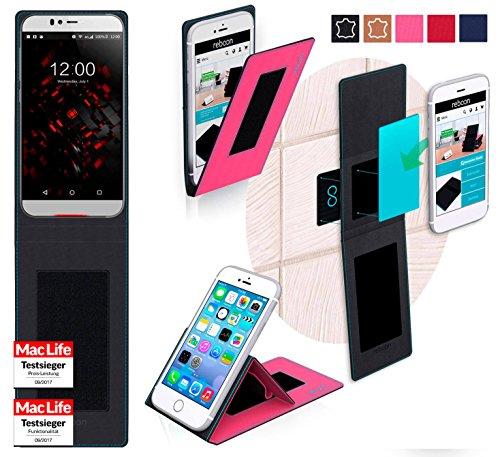 Hülle für UMi Iron Pro Tasche Cover Hülle Bumper | Pink | Testsieger