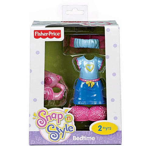 Fisher-Price Snap 'n Style My First Dress Up Fashions - Bedtime