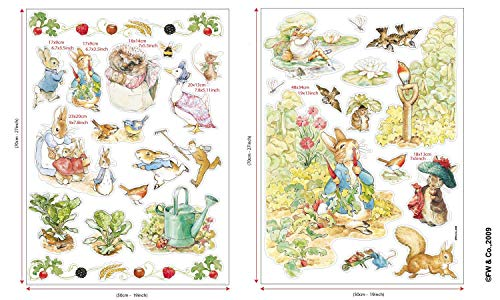 Beatrix Potter Wall Decal Sticker