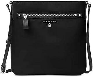 851a3e118707 Michael Kors Women's Large Kelsey Nylon Crossbody Cross Body Bag