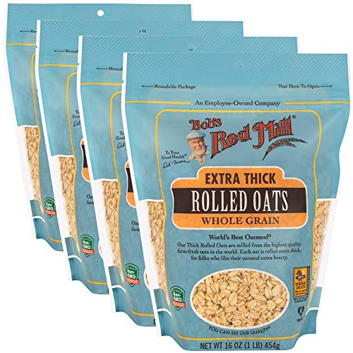 Bob#039s Red Mill Resealable Extra Thick Rolled Oats