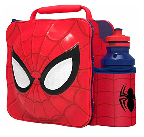 Marvel Character 3D Thermal Lunch Bag (Spiderman)
