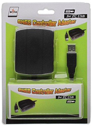Mayflash PC044 - Adaptador SNES USB, Negro