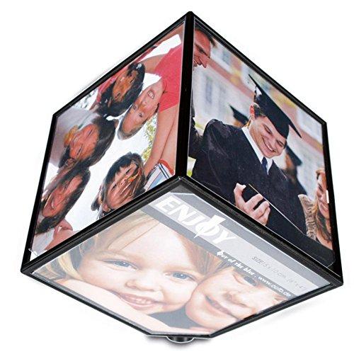 HC di Handel 916065cornice immagine immagini cornice foto cubo rotante a batteria