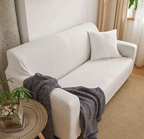 ZHICHENG Funda de sofá Universal con 1 Fundas de Cojines separadas Sofá de poliéster elástico Spandex Funda de Deslizamiento Reemplazo Protector de Muebles Antideslizante