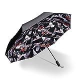 DCRYWRX Sombrilla Paraguas Publicitario Paraguas Negro Anti-UV Sombrilla Paraguas Publicitario Travel Umbrella 210T Automático