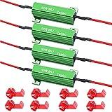 Twidec/4Pcs 50W 8Ohm LED Load Resistors For...