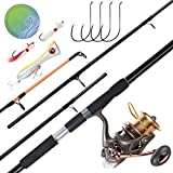 Best Surf Casting Rods - Dr.Fish Saltwater Fishing Rod and Reel Combos Surf Review