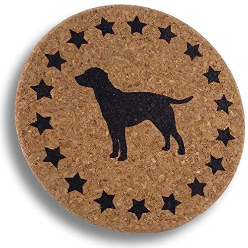 Labrador Retriever Gift - Dog Lover Cork Trivet for Mom Dad Men or Women