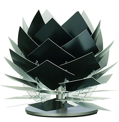 Design Tischleuchte Nachttischleuchte PineApple XS schwarz Ø: 18cm Höhe: 22cm G9 LED