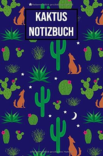 Kaktus Notizbuch: Kaktusmuster Notizbuch für Kinder, Jungen, Mädchen, Erwachsene, Frauen | 120 liniert Seiten Tagebuch, 6x9 (A5) | Perfekt zum ... die Schule | Kaktusliebhaber Geschenke vol. 3