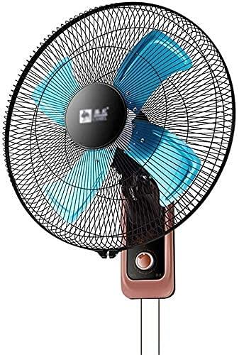 HTL Ventilador Eléctrico de Viento Industrial, Paredes de Metal Blade de Enfriamiento Ventilador Garaje Restaurante Four Seasons Double Drawstring Fan