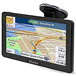top 10 7 navigation system 7-inch Hieha navigation system for trucks, mobile home with the latest US / California / MX maps …