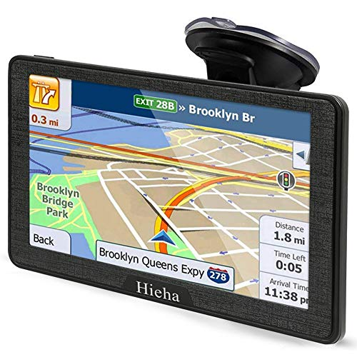 Why Should You Buy Hieha 7 Inches Navigation System for Car Truck Vehicles with Pre-Loaded Latest US...