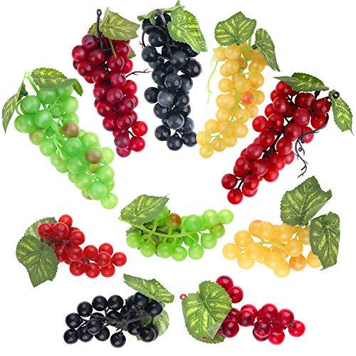 36Grains of Grapes Decorative Fruit,2pcs//set green Fashion bouquets,Artificial flowers