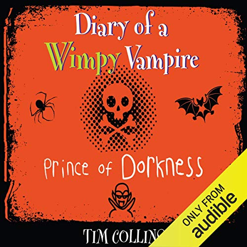 Diary of a Wimpy Vampire: Prince of Dorkness audiobook cover art