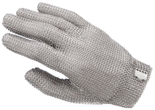 Contacto Edelstahl Stechschutzhandschuh, einzeln Größe 3, L