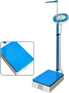 Básculas mecánica médica, baño con medición precisa de Altura y Peso, Lectura Clara Puede Error de Ajuste, 120 kg / 190 cm