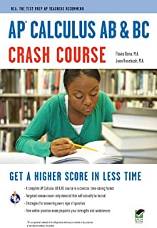 AP� Calculus AB & BC Crash Course Book + Online (Advanced Placement (AP) Crash Course)