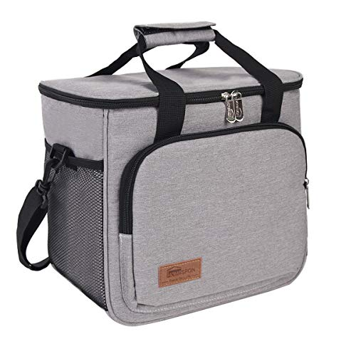Cooler Bag Insulated Lunch Bag for Women/Men Leakproof Cooler Lunch Container Thermal Cooler Pack Lunch Box Picnic Bag Cooler Tote Bag  165L