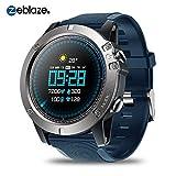 Househome Zeblaze Vibe 3 Pro Sports Tracker , Android iOS Bluetooth Smartwatch , Detección de la frecuencia cardíaca Espera Extra Larga a Prueba de Agua IP67 Reloj Inteligente para rastreador