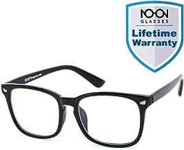 Blue Light Glasses Computer Glasses Gaming Glasses [Anti Eyestrain] Anti Blue Light Glasses, Light Weight, Unisex (Men/Women) (Classic Black)