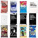 Cards Against Нumanity C A H Original Expansion Packs Set Bundle 12 Packs Reject Tabletop House etc.