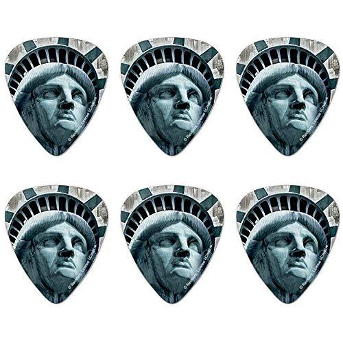 New York - Estatua Libertad púas guitarra, tamaño