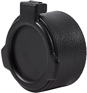 Yosoo Hunting Scope Cover Dustproof Lens Cap Rifle Flip Open Optic Scope Sight Accessories 5 Sizes (Size:42mm)