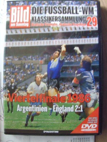 Die Fussball-WM ~ Klassikersammlung 29 ~ Viertelfinale 1986 Deutsche Triumphe, deutsche Tragödien ~ Viertelfinale ~ Argentinien - England 2:1 ~ Das Spiel in voller Länge