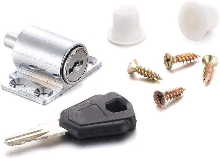 JUN-STORE CMM-Y 1PC Anti Theft Max 81% OFF Cam Low price Aluminium Lock Bolt Latch for