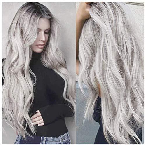 comprar pelucas cabello natural platino en línea