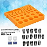 ER20 Mandrino in plastica e acciaio per fresatrice CNC per macchine per incisioni CNC