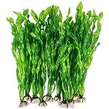 tellaLuna Plantas de Agua Algas Artificiales para Acuario, Decoraciones de Plantas de PláStico para Pecera20 Piezas