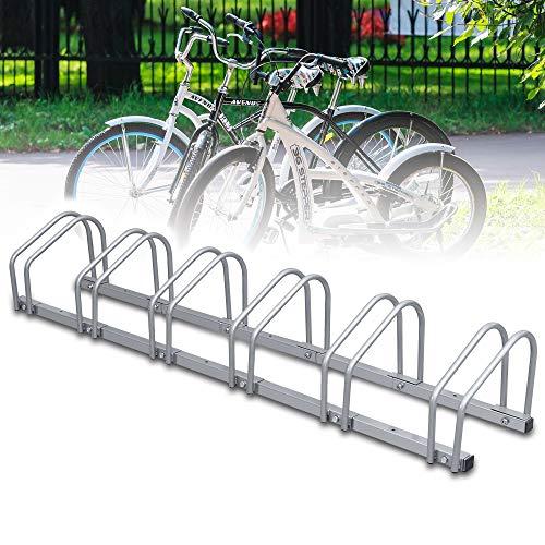 wolketon Fahrradständer für 6 Fahrräder, Diverse Modelle, Fahrradparker Bike Fahrrad Ständer Rad