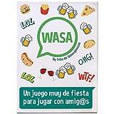 🤣 WASA 🤣 – Juego de Mesa - Juego de Cartas para Fiestas y...
