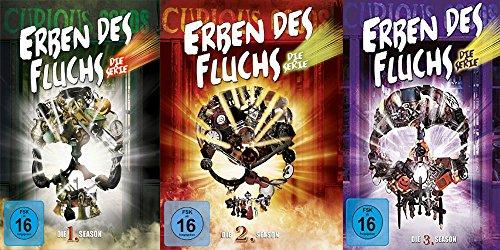 Erben des Fluchs - Season 1-3 komplette Serie im Set - Deutsche Originalware [17 DVDs]
