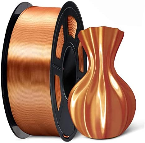 SUNLU Silk Copper PLA Filament 1 75mm 3D Printer Filament 1KG 2 2 LBS Spool 3D Printing Material product image