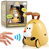 LAKIBOLE Baby Toddler Companion Sound Toy Car Pet, Aiintelligent Sensor Sound Toys Car Interactive Learning Gift for 18-Month 2 3 4 5 Year Olds Infant Kids Boy Girl - Groundhog