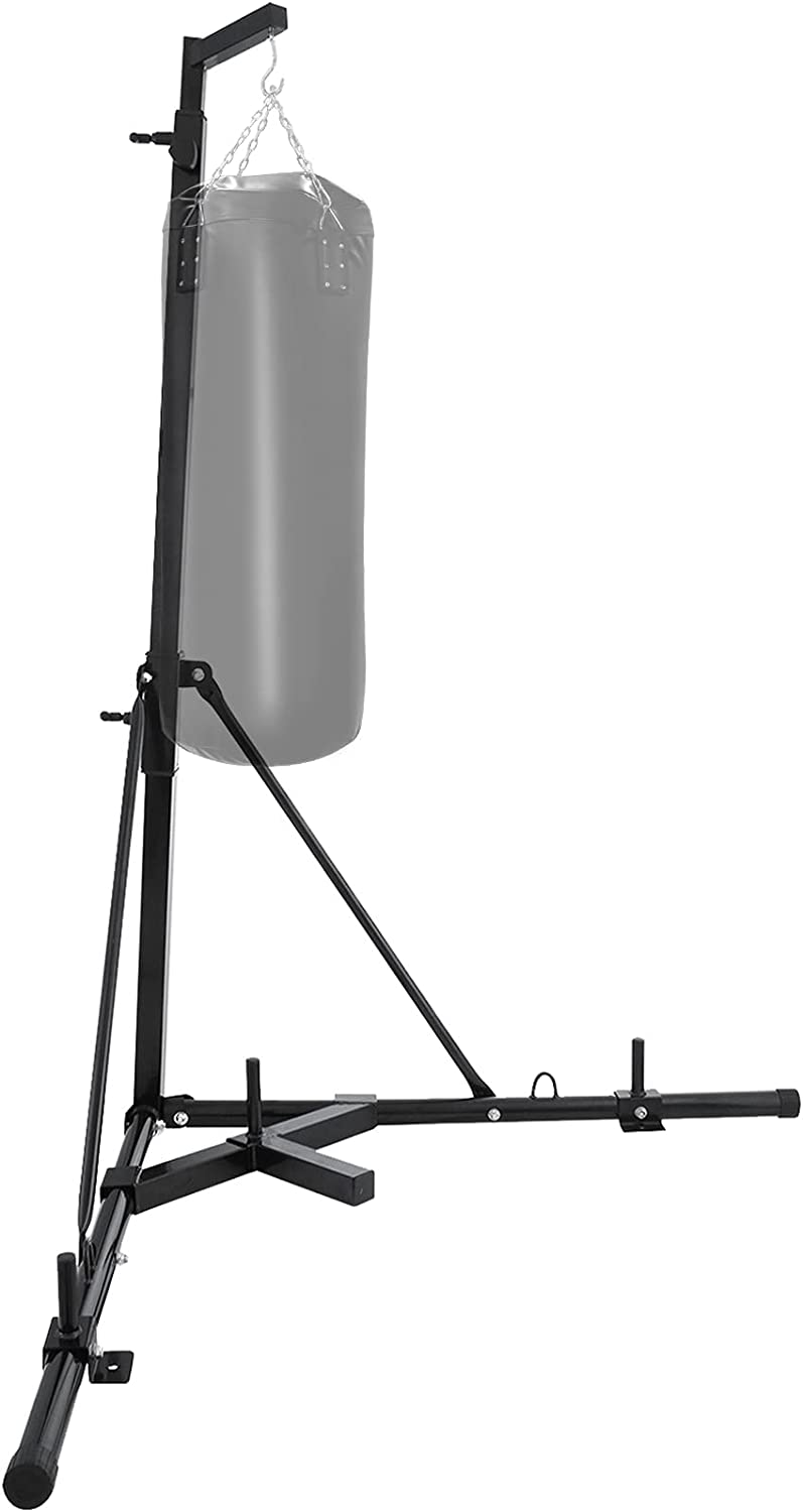 Popsport Heavy Bag Stand Free Punching Bracket St 5 ☆ popular Raleigh Mall Standing Punch