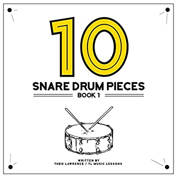 10 Snare Drum Pieces - Book 1 - Backing Tracks