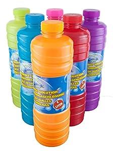 Krüger & Gregoriades A. I. & E. Jabón Burbujas 1 litro de líquido de Burbujas de jabón Relleno Ideal para solución de Burbujas de jabón Pistola Varillas jabón Burbujas lejía