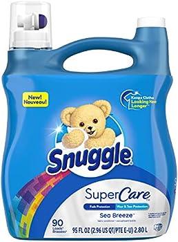Snuggle SuperCare Liquid Fabric Softener, 90 Loads