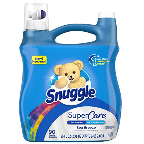 95-Oz Snuggle SuperCare Liquid Fabric Softener (Sea Breeze) 2 for $9.50 ($4.75 each) + Free Shipping w/ Prime or on orders over $25