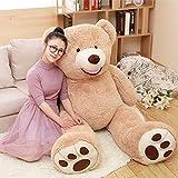 CLINGE Teddy Bear Skin 1pc Huge Size Kawaii 160cm USA Giant Bear Skin Teddy Bear Hull Wholesale Price Selling Toy Birthday Gifts for Girls