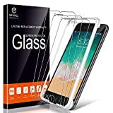 [3-Pack] MP-MALL Screen Protector for iPhone 7 Plus, [Case Friendly] [Alignment Frame Easy Installation] Tempered Glass