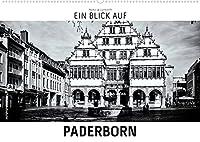 Ein Blick auf Paderborn (Wandkalender 2022 DIN A2 quer): Ein ungewohnter Blick in harten Schwarz-Weiss-Bildern auf die Stadt Paderborn (Monatskalender, 14 Seiten )